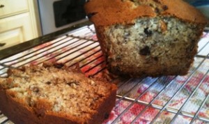 banana bread slice med
