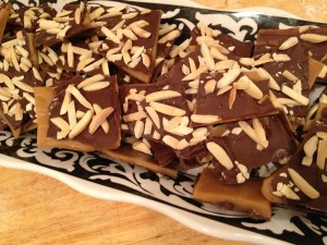 Almond Chocolate Toffee