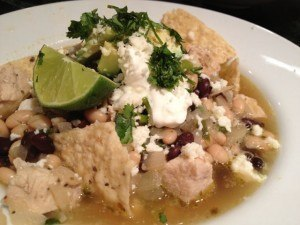 Tortilla Soup with Chicken, Cilantro & Lime