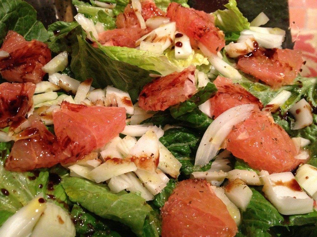 Grapefruit Fennel Salad 1