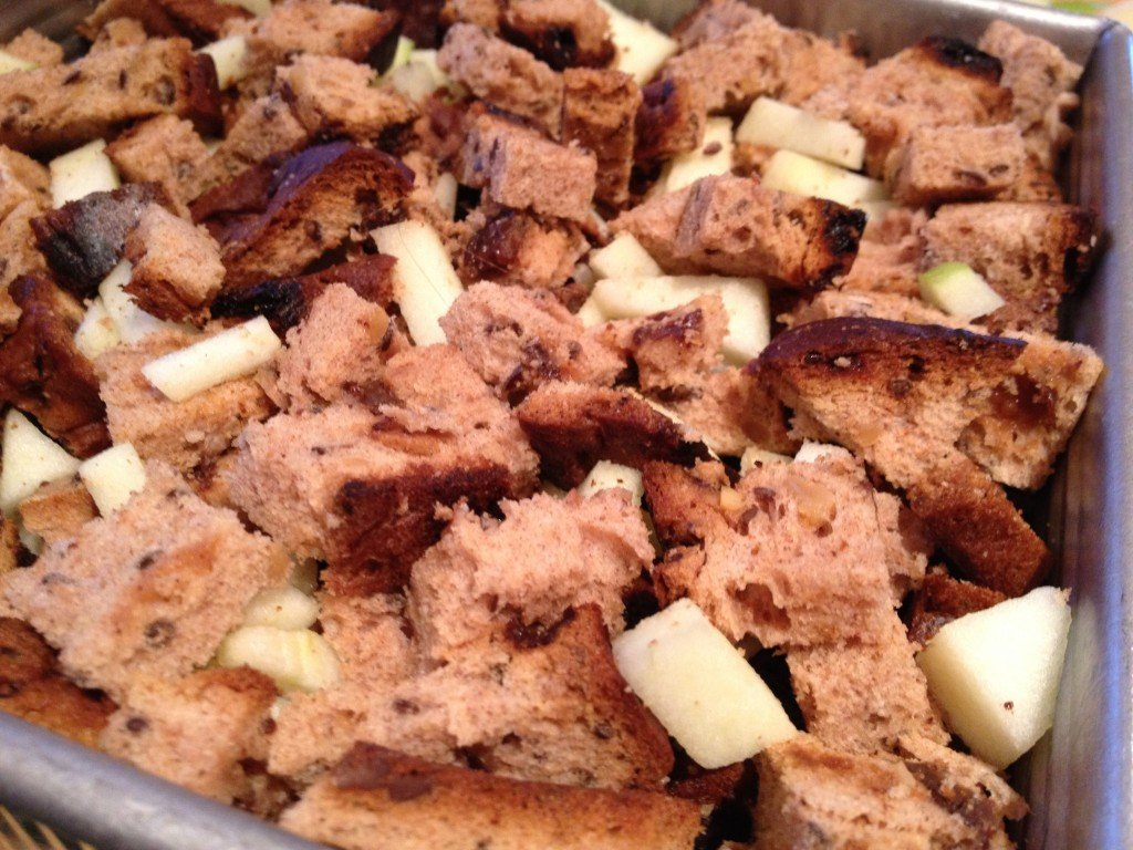Caramel Apple Bread Pudding | The Best Bread Pudding Recipe