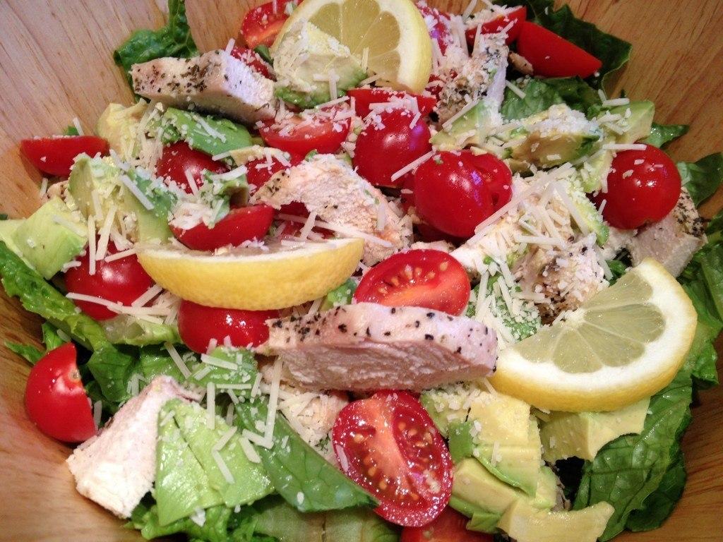 Chicken Cherry Tomato Salad