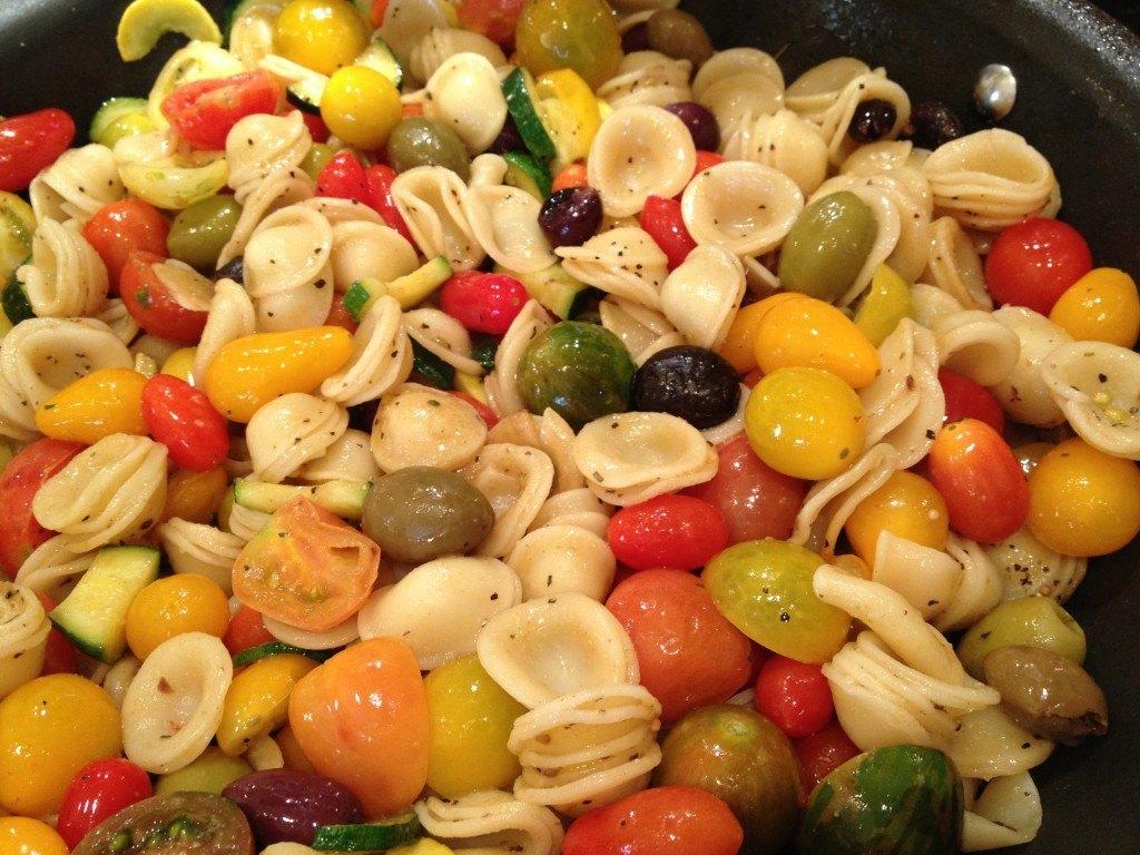Summer Tomato, Sage, & Squash Orecchiette