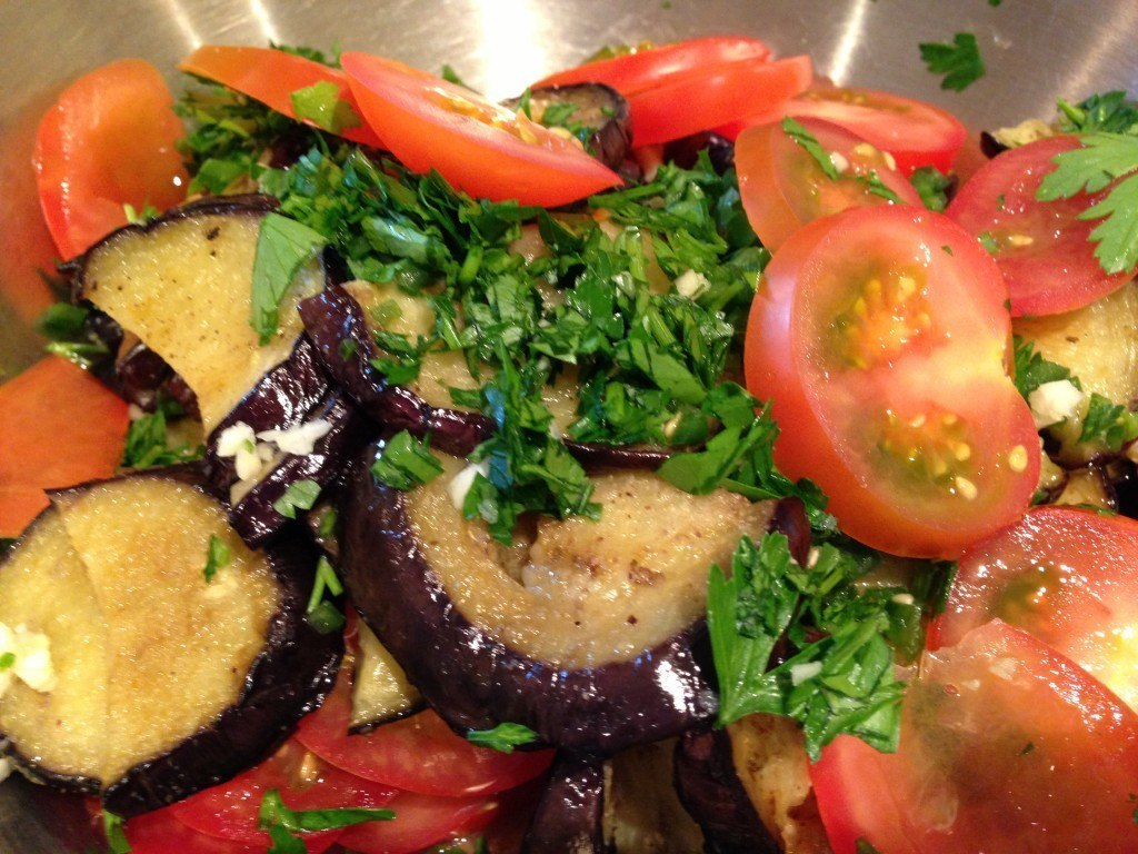 Grilled Greek Egglant |Vegetable Salad Recipes