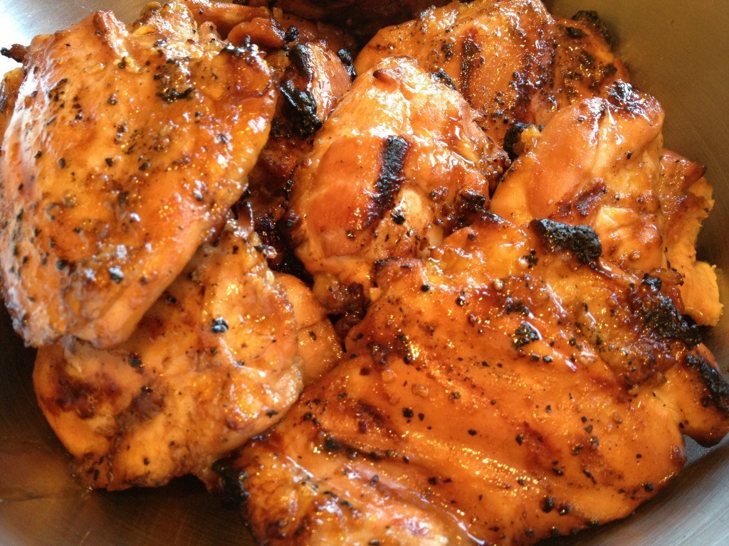 Asian Glazed and Grilled Chicken