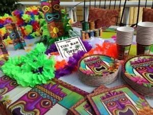 Tiki Party goodies