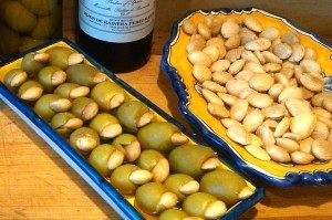 Manzanilla Olives Stuffed with Marcona Almonds