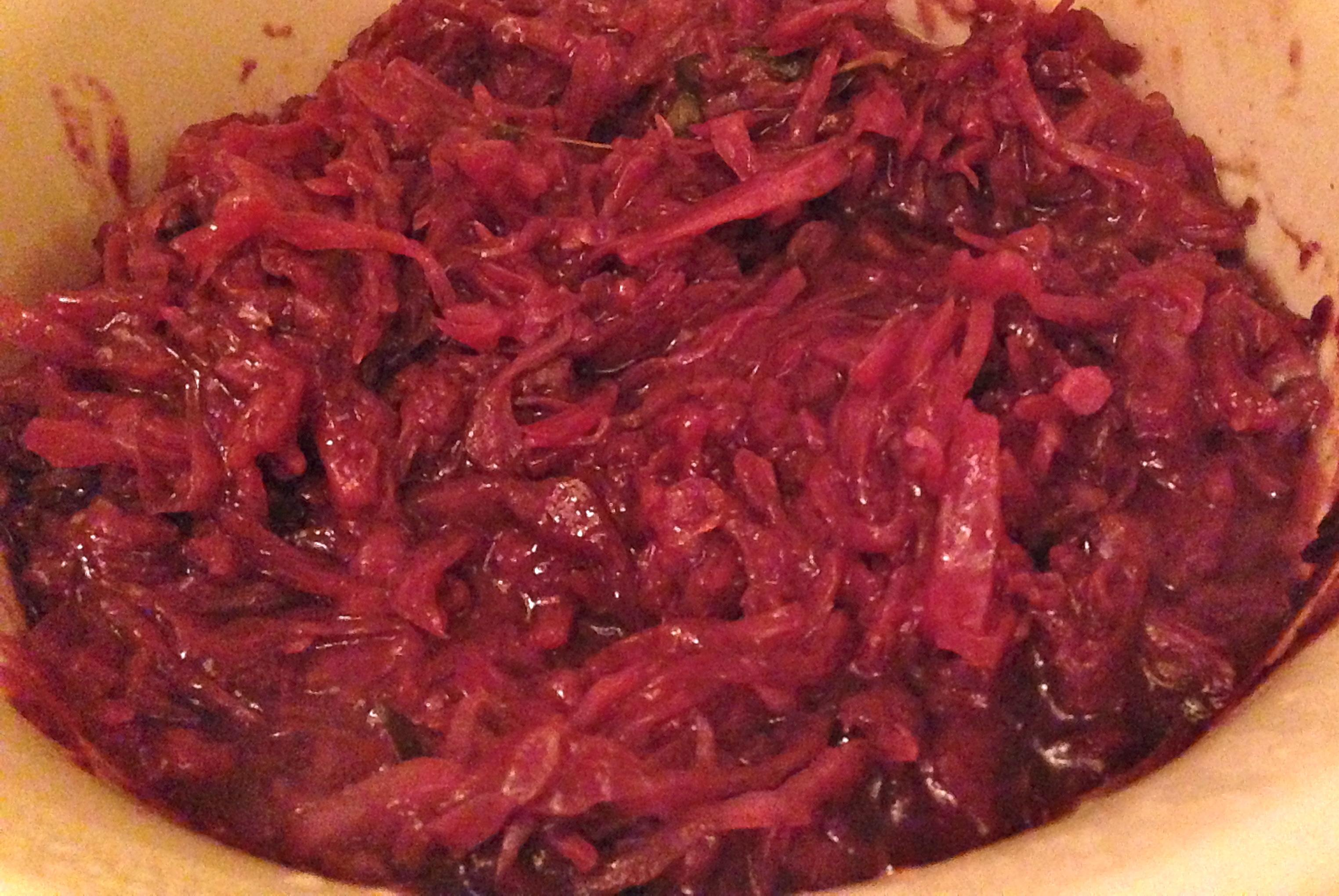 German Apple Red Cabbage Salad Recipe The Brown Lounge